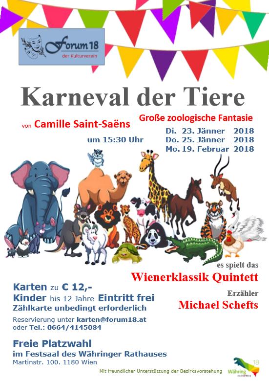 karneval der tiere instrumente